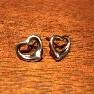 Tiffany & Co Elsa Peretti Open Heart Earrings